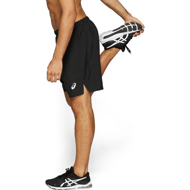 "asics Silver 7"" Shorts Herren performance black"