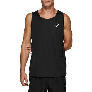 asics Silver Singlet Herren performance black performance black