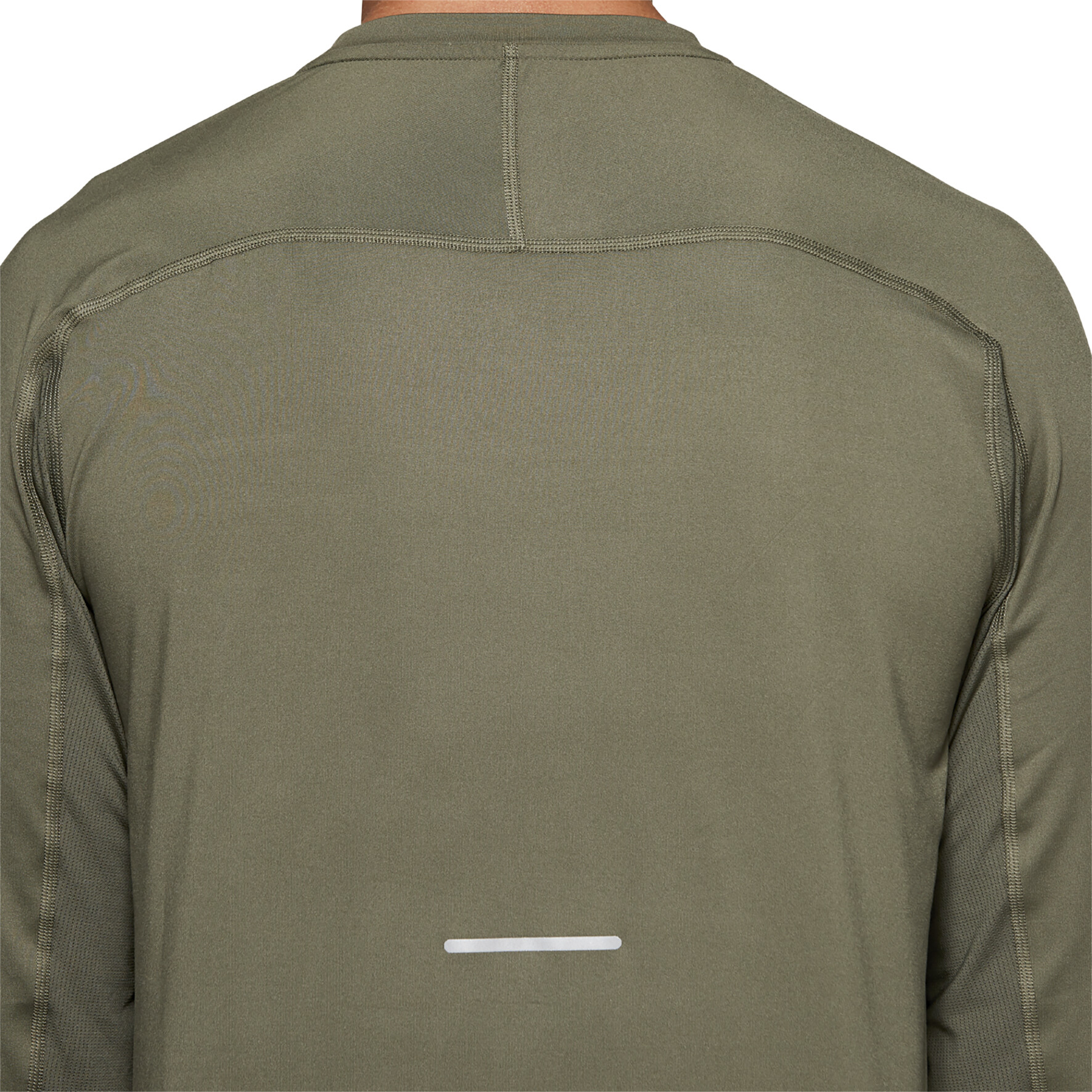 asics Thermopolis Plus Langarmshirt Herren mantle green