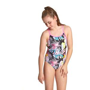 Zoggs Palms Starback Badeanzug Mädchen bunt bunt