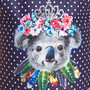 Zoggs Tribal Koala Classicback Badeanzug Mädchen navy