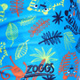 Zoggs Tiger Party Hip Racer Badehose Jungen blue