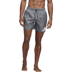 adidas Badge of Sport Melange SL Shorts Herren grey six grey six