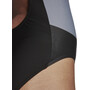 adidas Colourblock One Piece Badeanzug Damen schwarz/grau