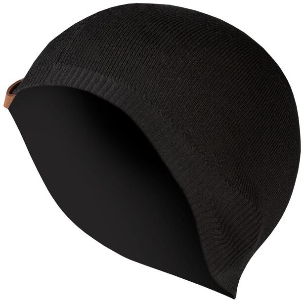Endura BaaBaa II Merino Helmmütze Herren black