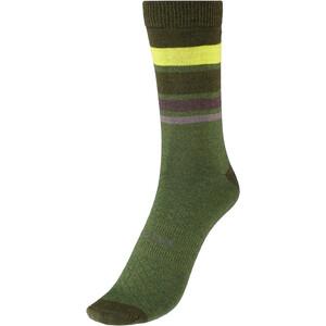 Endura BaaBaa Merino Stripe Socken Herren oliv/grün oliv/grün