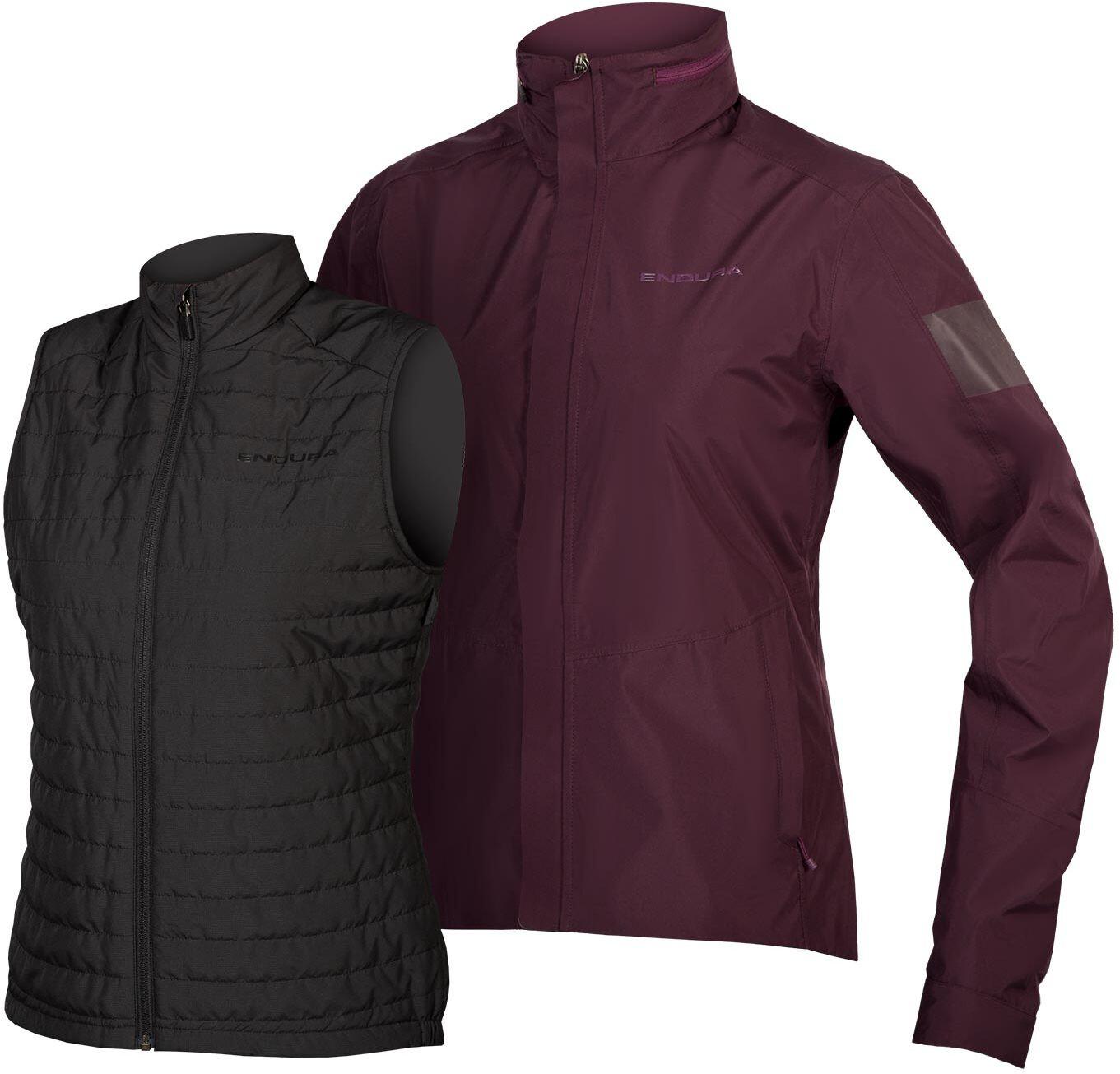 Endura Urban 3 in 1 Waterproof Jacket   bike jacket