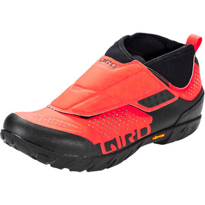 Giro Terraduro Mid Shoes Men バーミリオン/ブラック