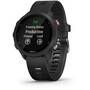 Garmin Forerunner 245 Music GPS Smartuhr black/red