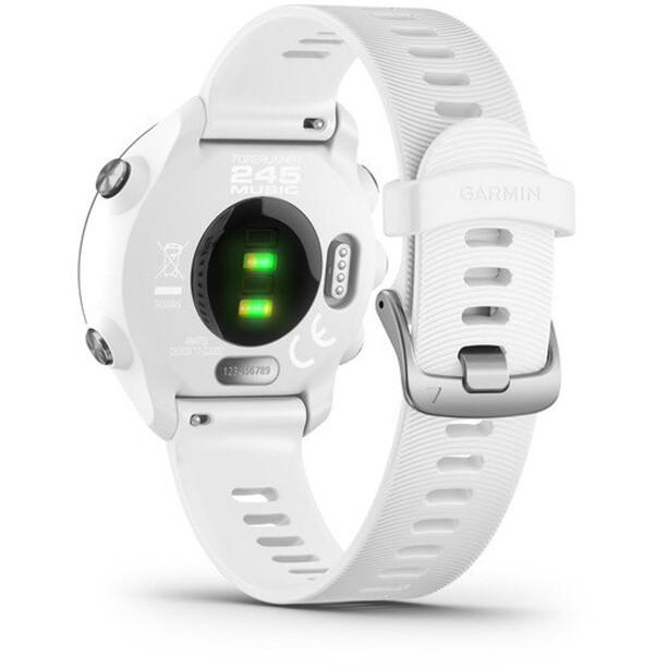 Garmin Forerunner 245 Music GPS Smartuhr white/black