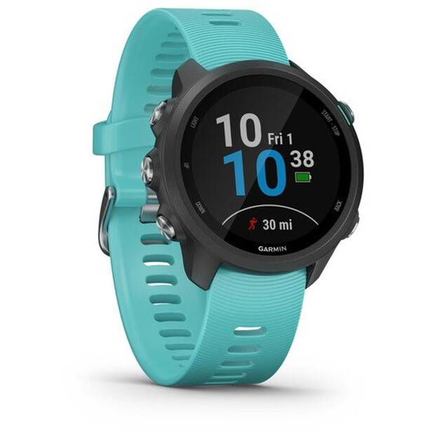 Garmin Forerunner 245 Music GPS Smartuhr black/aqua
