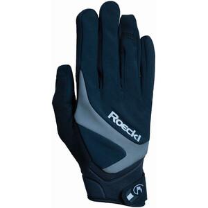 Roeckl Rhein Handschuhe black/grey black/grey