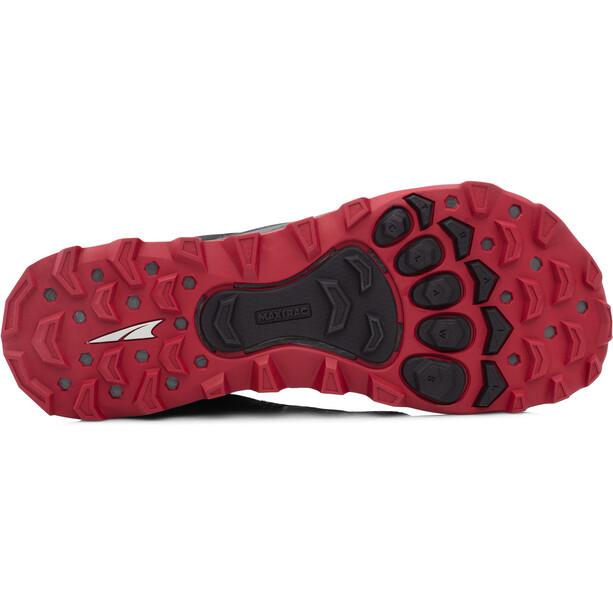 Altra Lone Peak 4 Trail Running Schuhe Herren black/red