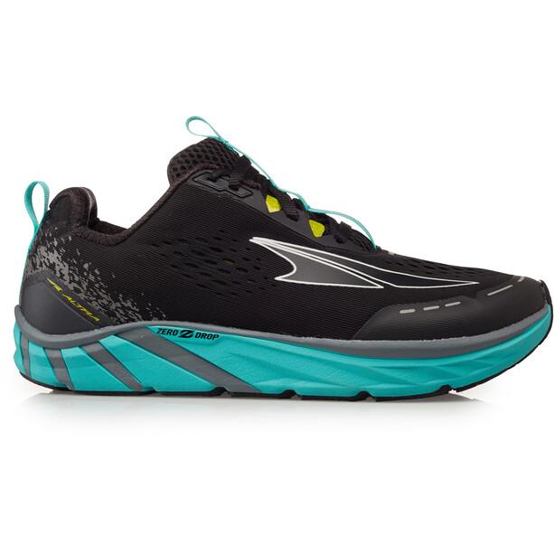 Altra Torin 4 Chaussures de trail Femme, noir/turquoise