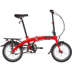 """DAHON Curve i3 16"""" red red"""