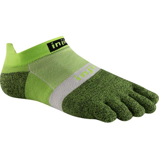 Injinji Run Xtralife Lightweight No Show Socks Herr chive