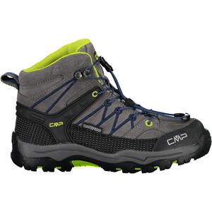 CMP Campagnolo Rigel WP Mid-Cut Trekkingschuhe Kinder grau/blau grau/blau