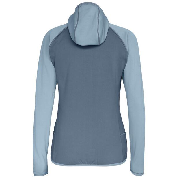 SALEWA Puez 3 PowerLite Full-Zip Hoodie Damen blue fog