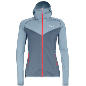 SALEWA Puez 3 PowerLite Full-Zip Hoodie Damen blue fog blue fog