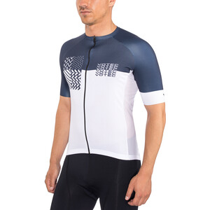 VOTEC Block Pattern Jersey Men navy-white navy-white