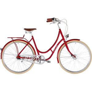 Viva Bikes Emilia Classic Damen dark red dark red