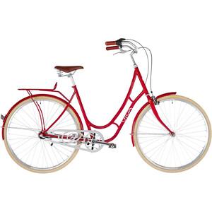 Viva Bikes Juliett Entry Dam röd röd