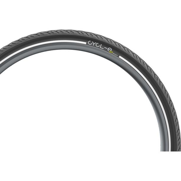 """Pirelli Cycl-e DTs Drahtreifen 28x1.25"""" black"""