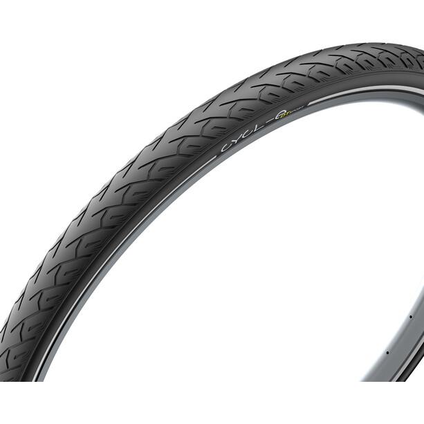 """Pirelli Cycl-e DTs Drahtreifen 28x1.40"""" schwarz"""