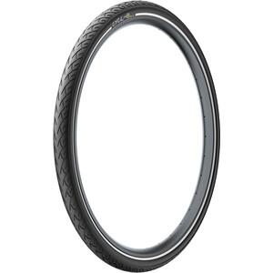"""Pirelli Cycl-e DTs Clincher-rengas 28x1.75"""", musta musta"""