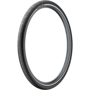 """Pirelli Cycl-e GT Clincher-rengas 28x1.40"""", musta musta"""