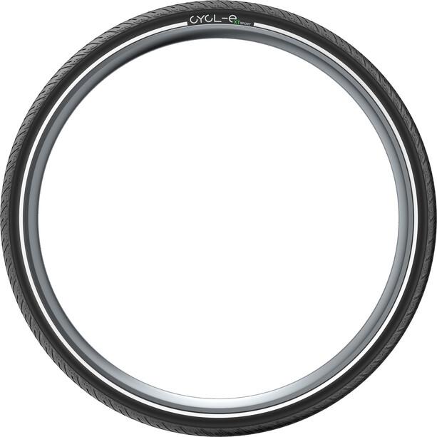 """Pirelli Cycl-e XTs Drahtreifen 28x1.25"""" schwarz"""