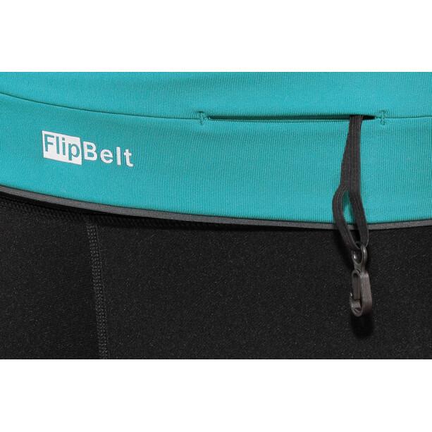 FlipBelt Zipper Fitness Gürtel aqua