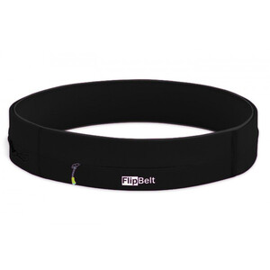 FlipBelt Zipper Fitness Belt black black