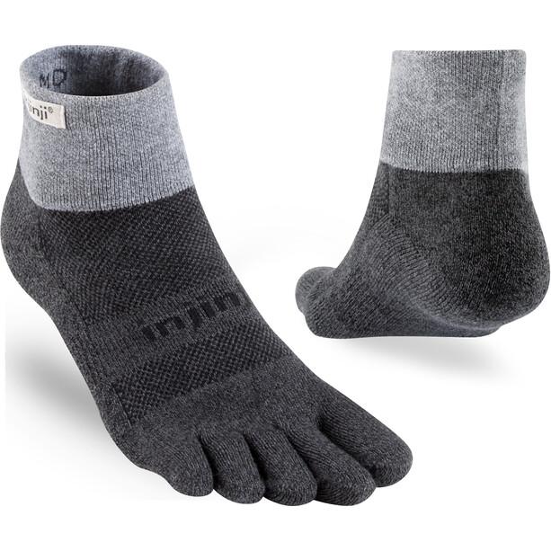 Injinji Trail Mini-Crew Xtralife Midweight Socken granite