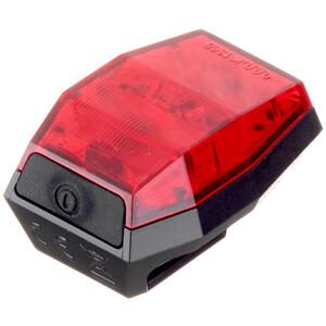 Croozer Lunixo Lynx R mini Rücklicht black/red black/red