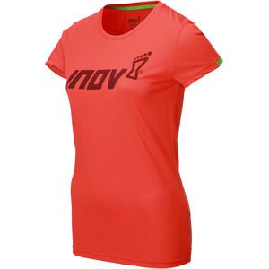 inov-8 Tri Blend Obsessed Kurzarm T-Shirt Damen rot rot