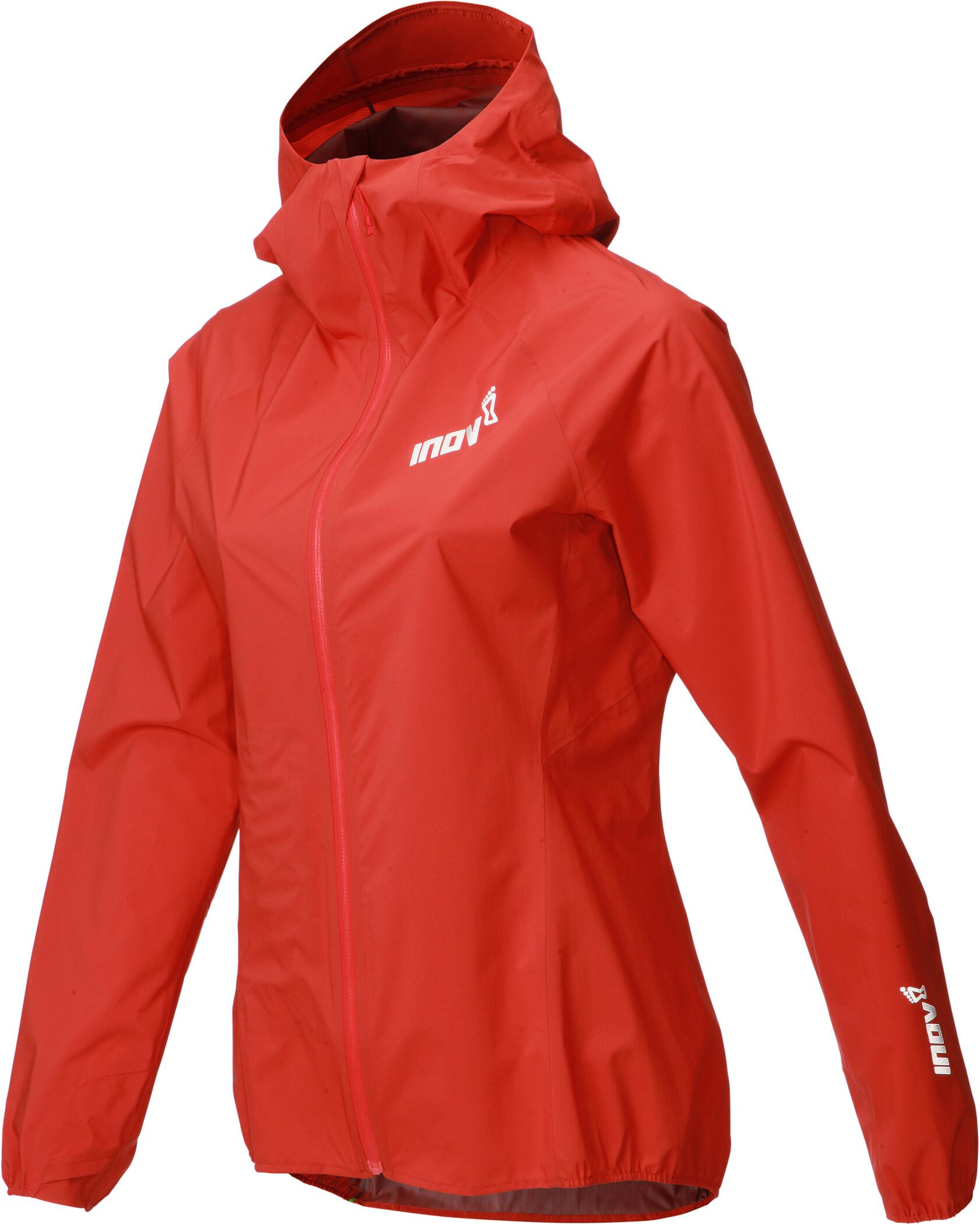 inov 8 Stormshell Full Zip Jacke Damen red