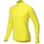 inov-8 Technical Mid T-shirt manches longues avec demi-zip Homme, jaune