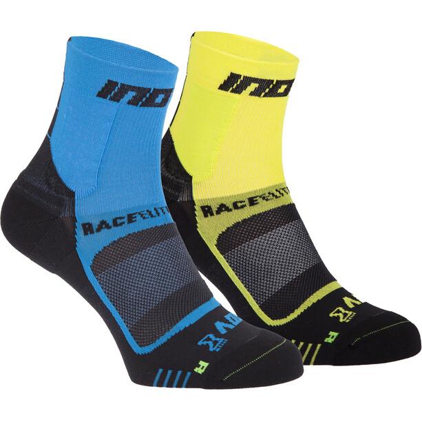 inov-8 Race Elite Pro Chaussettes, bleu/jaune