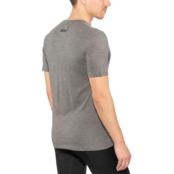 inov-8 TriBlend SS Shirt Herr dark grey
