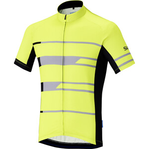 Shimano Team Kurzarm Trikot Herren neon yellow neon yellow
