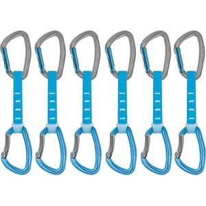 Petzl Djinn Axess Quickdraw 12cm 6 Pack blue blue