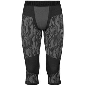 Odlo Blackcomb 3/4 Hose Herren black/odlo steel grey/silver black/odlo steel grey/silver