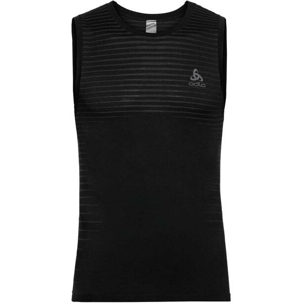 Odlo Performance Light Rundhals-Unterhemd Herren black