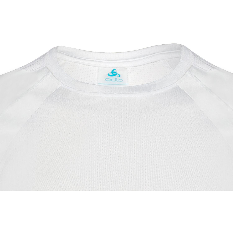 Odlo Active Spine Light LS Rundhalsshirt Herren white