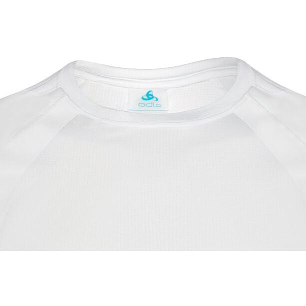 Odlo Active Spine Light T-shirt Manches longues Col ras-du-cou Homme, blanc