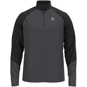 Odlo Planches Half Zip Midlayer Herren odlo graphite grey/black odlo graphite grey/black