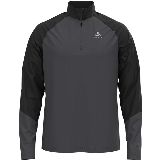 Odlo Planches Half Zip Midlayer Herren odlo graphite grey/black