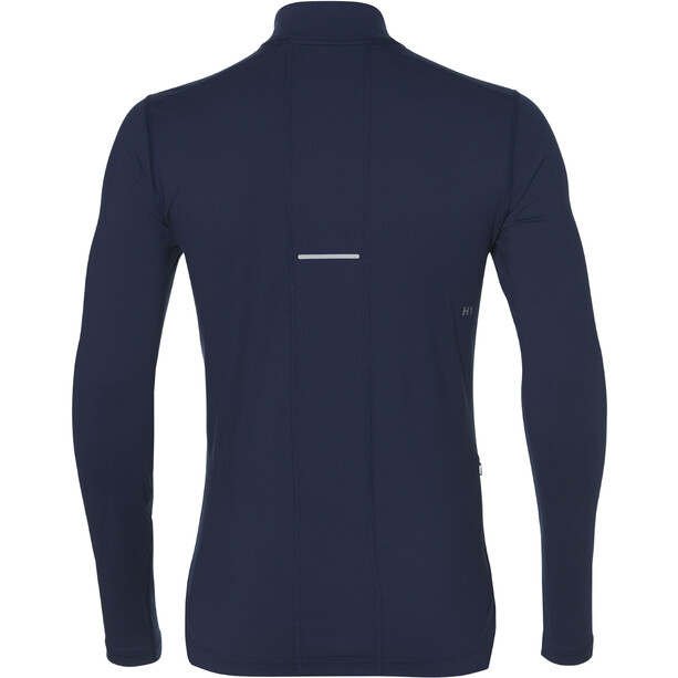 asics LS 1/2 Zip Jersey Herren indigo blue