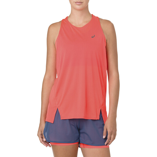 asics Cool Tank Top Damen flash coral
